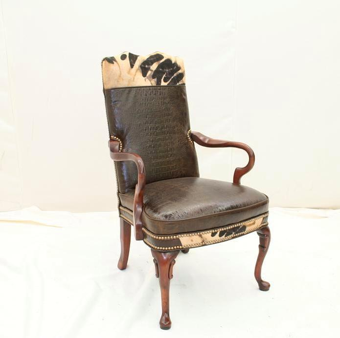 Rustic Arm Chair|Western Chair|Rustic Dining Chair|Western ...