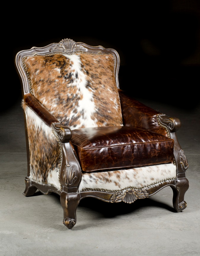 Western Chair Cowhide Chair Anteks Home Furnishings