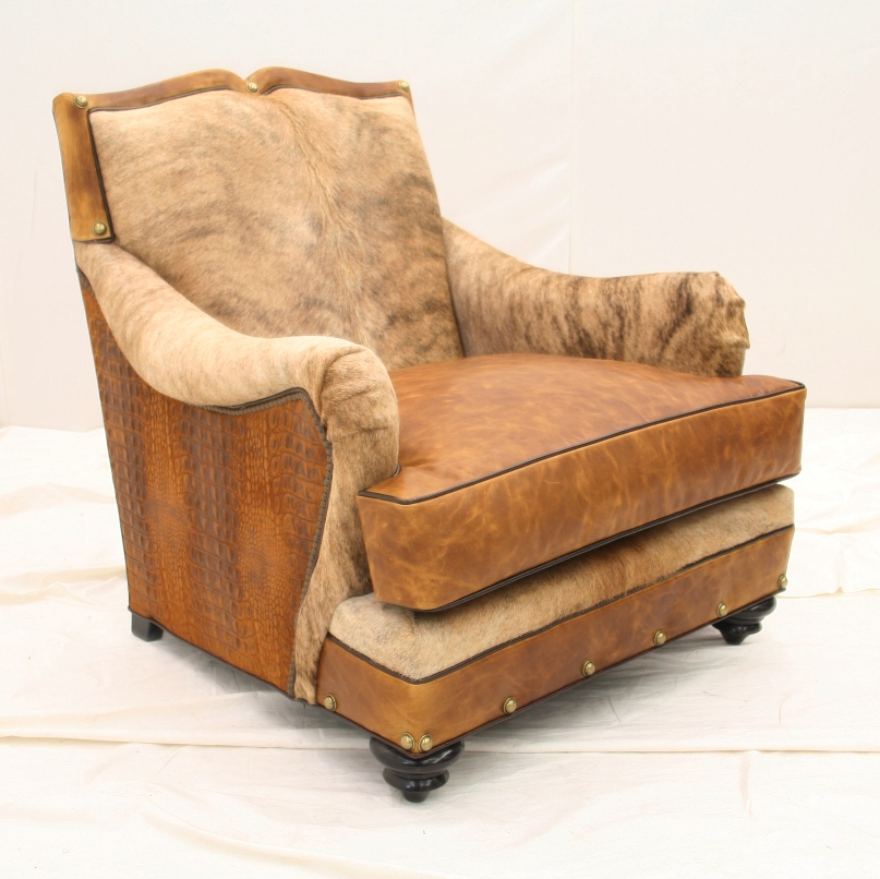 Western Chair Western Living Room Furniture Cowhide Chair Made In The Usa Anteks Home Furnishings