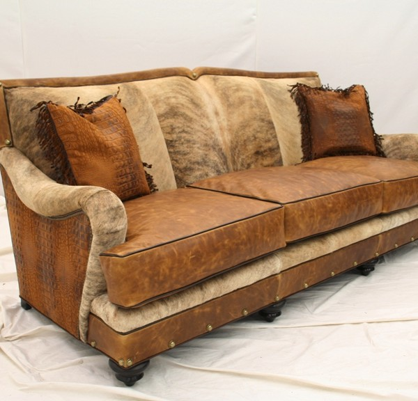 Living Room Furniture Made Usa western sofa|western living room furniture|cowhide sofa|made in