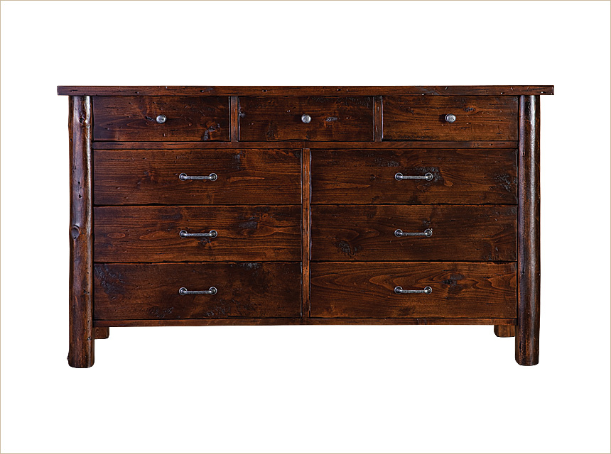 Rustic Dresser Western Dresser Rustic Bedroom Furniture Made In The Usa Anteks Home
