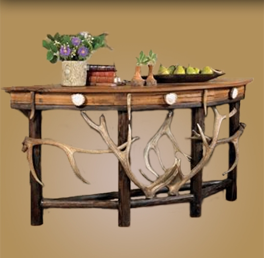 elk half moon sofa table