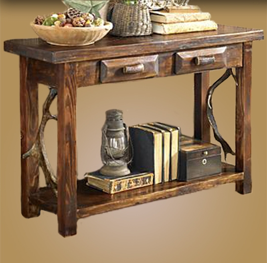 Fallow 2 Drawer Sofa Table