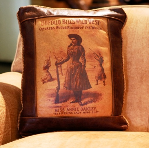 Annie Oakley Pillow At Anteks Furniture Store In Dallas