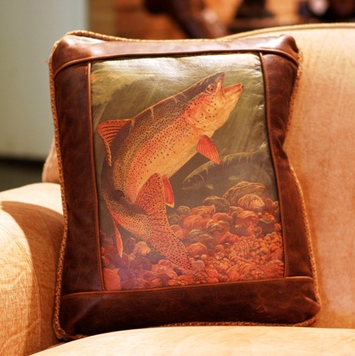 pillow fish air trout balsam scented product freshener rainbow