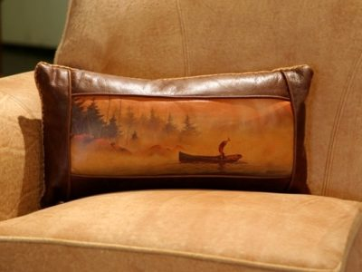 Shop Southwestern Style Leather Pillows Anteks Home