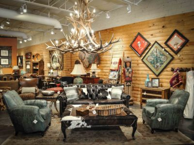 Rustic Furniture Showroom