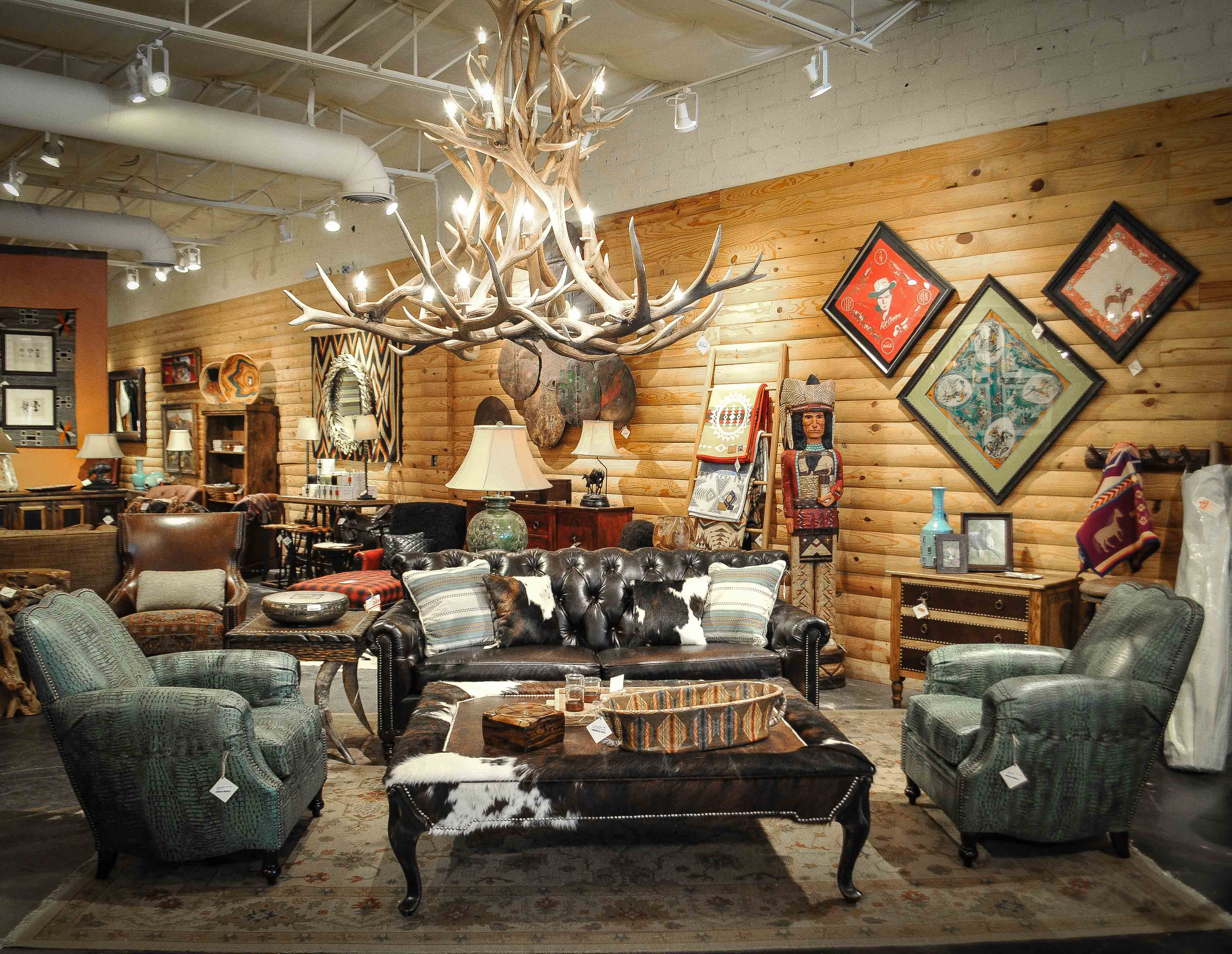 rustic living room furniture at anteks furniture store in