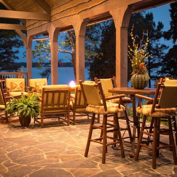Rustic Outdoor Furniture At Anteks Furniture Store In Dallas
