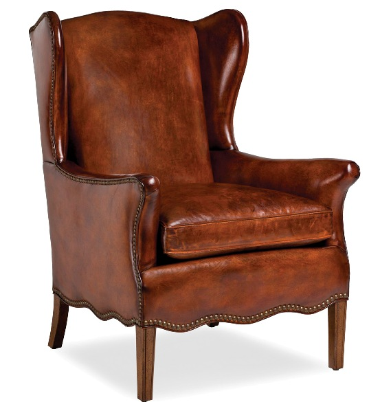 Hancock And Moore Chair Brown Leather