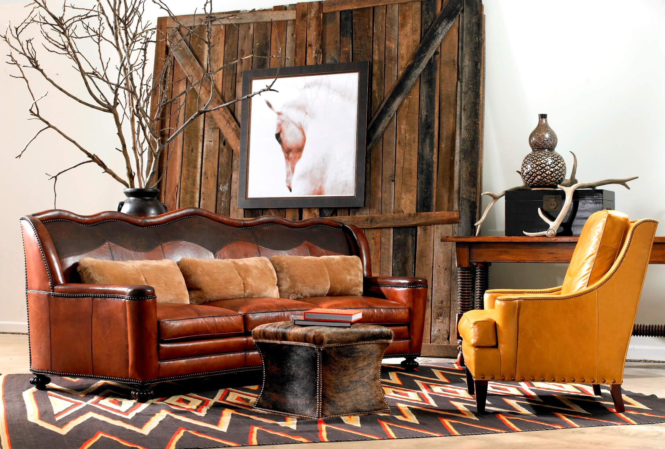 Rustic western furniture store in dallas tx ant ks for Furniture and design stores