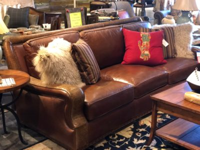 40% off Hancock and Moore Leather Sofa