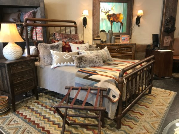 iron queen bed frame