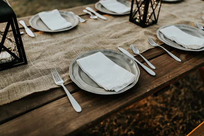 thanksgiving rustic table